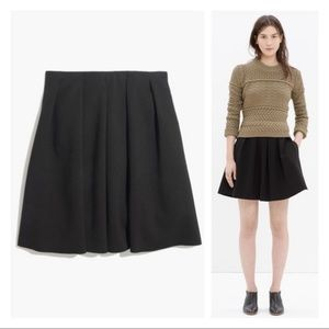 Madewell Countdown Skirt in Black